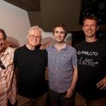 Chip Taylor, Huck Bennert and Greg Lietz at Dubway Studios New York.