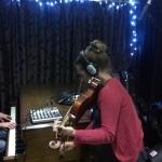 Sarah May Rogers Mark Flynn at Audioland
