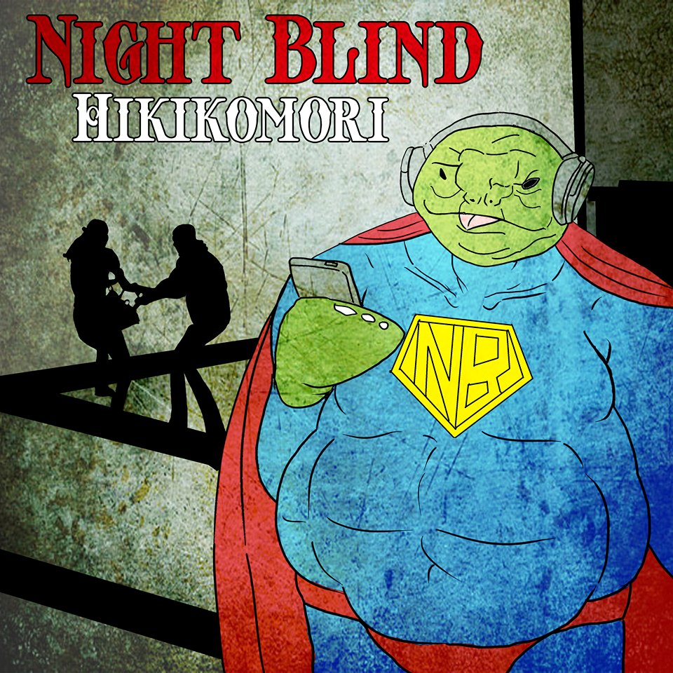 Nightblind Hikikomori Audioland Anthony Gibney